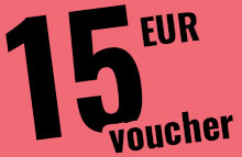 Your 15,- EUR voucher to honour all the horny chicks